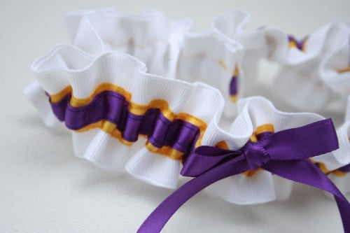 college-wedding-garter-white-yellow-purple-The-Garter-Girl-4