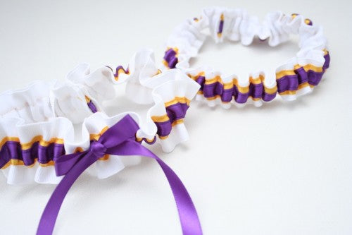 college-wedding-garter-white-yellow-purple-The-Garter-Girl-5