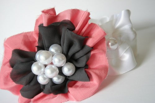 couture-pink-and-gray-wedding-garter