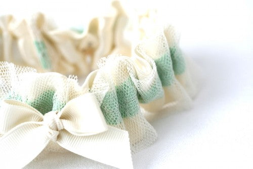 custom-mint-ivory-lace-wedding-garter-The-Garter-Girl