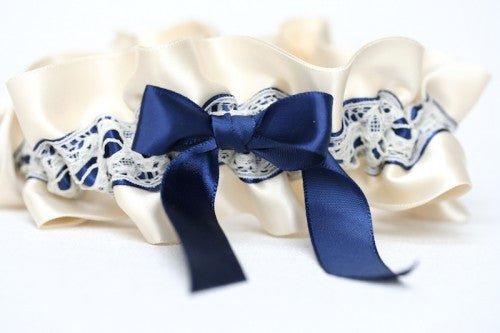 custom-wedding-garter-ivory-navy-blue-The-Garter-Girl-by-Julianne-Smith1-