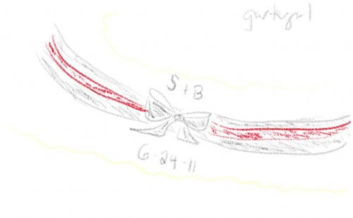 custom-wedding-garter-sketch