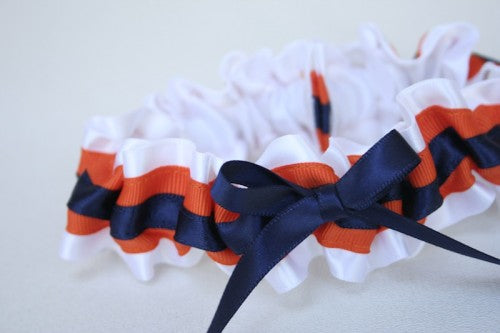 custom-white-orange-blue-wedding-garter-The-Garter-Girl-1