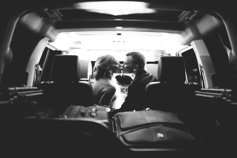 elegant-wedding-get-away-car-Lindsey-Mueller-Photogrpahy-