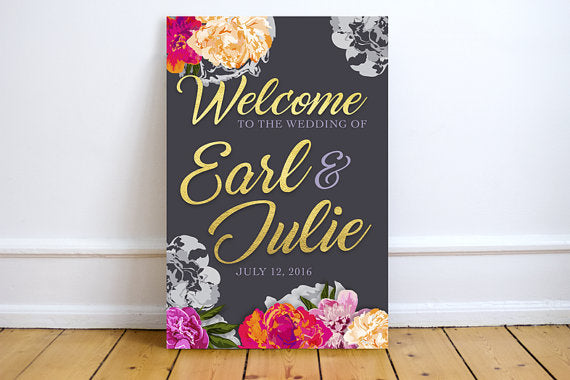 fall-wedding-sign-welcome