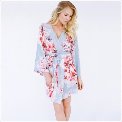 flower robe for mother of the bride