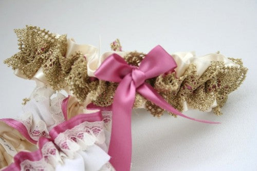 gold-pink-wedding-garter-The-Garter-Girl