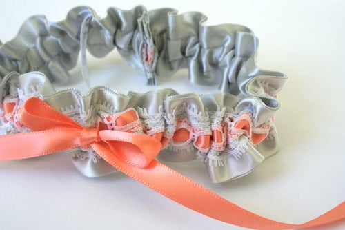 gray-and-peach-unique-wedding-garter-The-Garter-Girl-by-Julianne-Smith