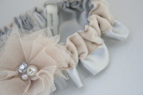 gray-champagne-velvet-wedding-garter-The-Garter-Girl-1