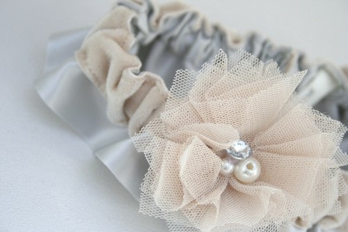 gray-champagne-velvet-wedding-garter-The-Garter-Girl-3
