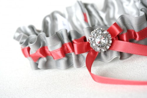 gray-coral-wedding-garter-The-Garter-Girl3