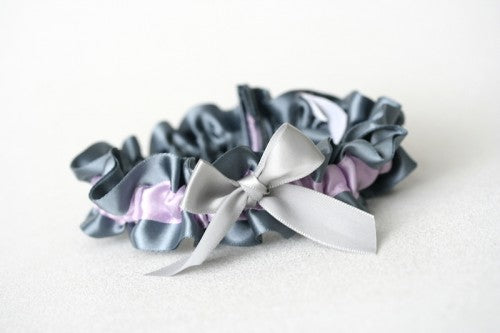 gray-purple-wedding-garter-The-Garter-Girl