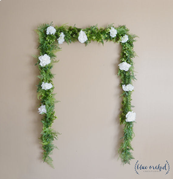 greenery-wedding-backdrop