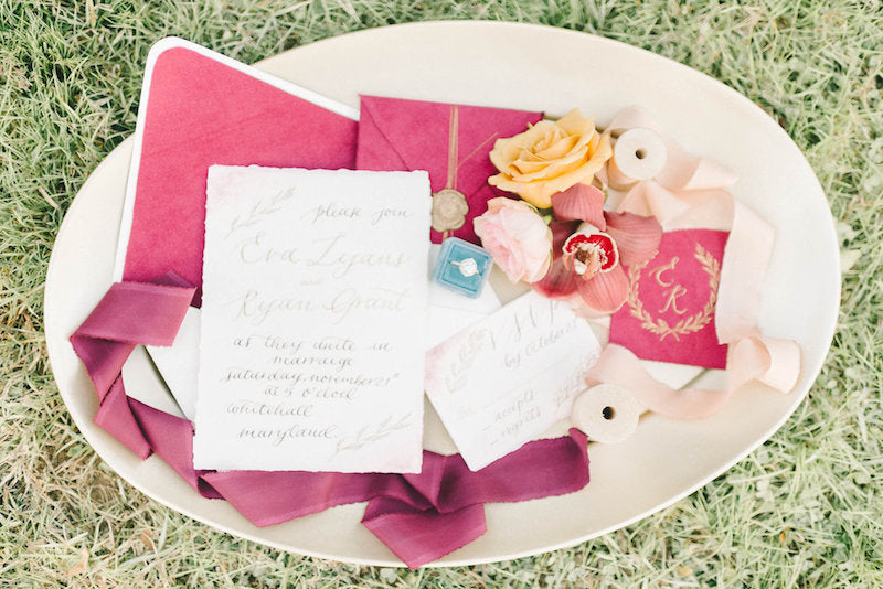invitation=luxurious-winter-wedding-inspiration-Liz-Fogarty-Photography