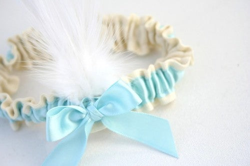 ivory-aqua-wedding-garter-The-Garter-Girl