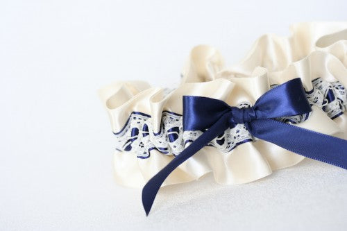ivory-lace-navy-blue-embroidered-bridal-garter-The-Garter-Girl