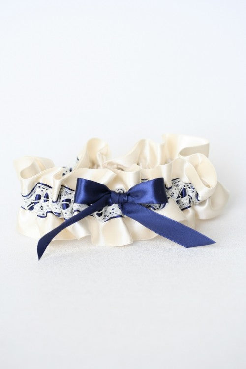 ivory-lace-navy-blue-embroidered-bridal-garter-The-Garter-Girl2