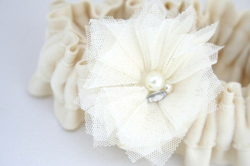 ivory-velvet-sparkle-wedding-garter-The-Garter-Girl