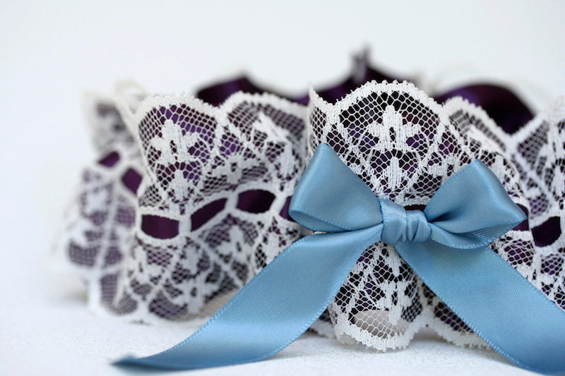 lace-purple-blue-wedding-garter-The-Garter-Girl-1