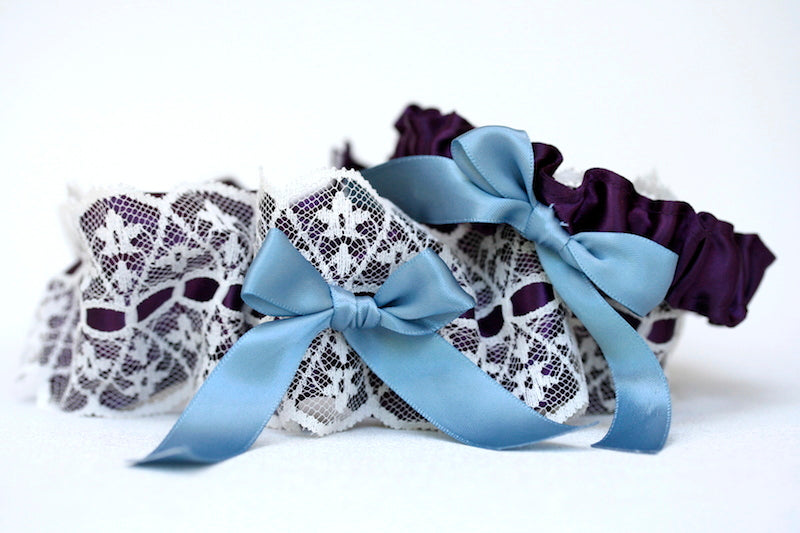 lace-purple-blue-wedding-garter-The-Garter-Girl-2