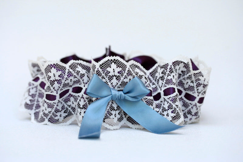 lace-purple-blue-wedding-garter-The-Garter-Girl