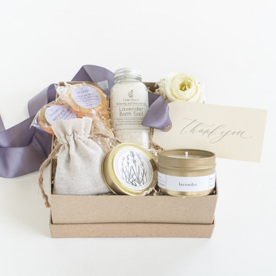 lavender holiday gift for the bride