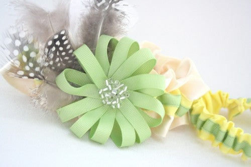 lemon-and-lime-couture-wedding-garter-set