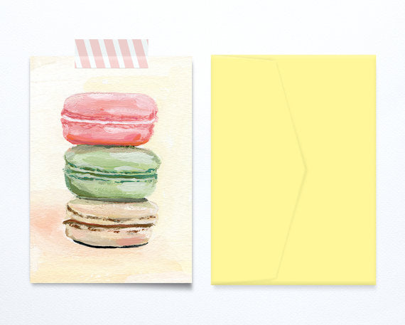 macarons-birthday-card-illustration