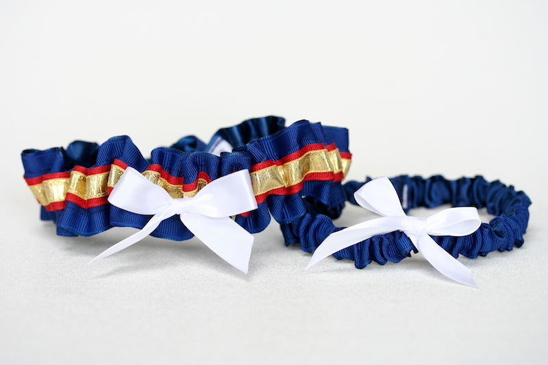 marine-dress-blue-wedding-garter-The-Garter-Girl-2