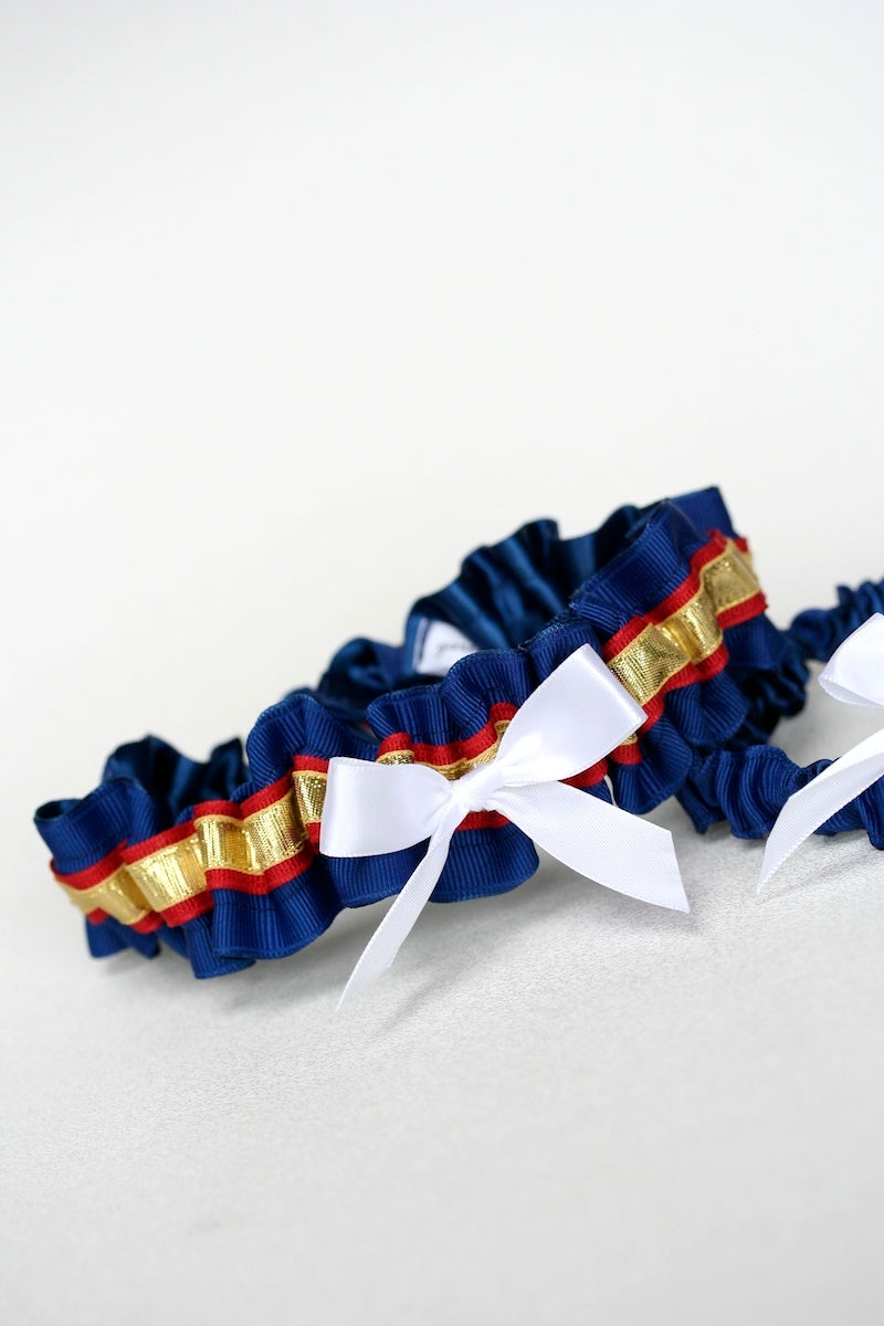 marine-dress-blue-wedding-garter-The-Garter-Girl-6