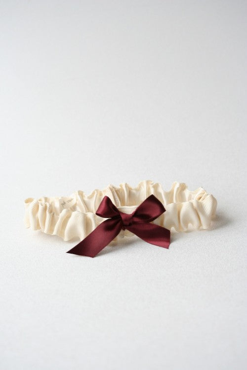 marsala-ivory-wedding-garter-The-Garter-Girl-9