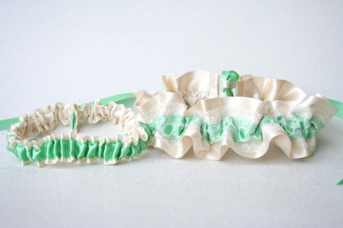 mint-green-ivory-wedding-garter-set-The-Garter-Girl