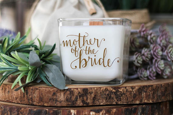 mother of the bride candle