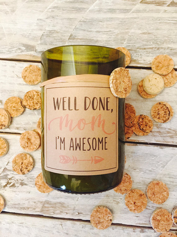 funny candle for mom - - mother of bride or groom gift