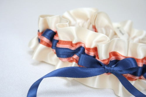 navy-coral-wedding-garter-The-Garter-Girl-3