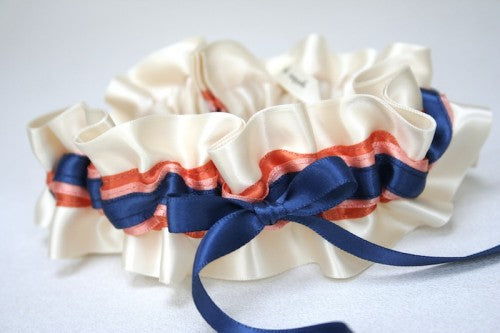 navy-coral-wedding-garter-The-Garter-Girl-4