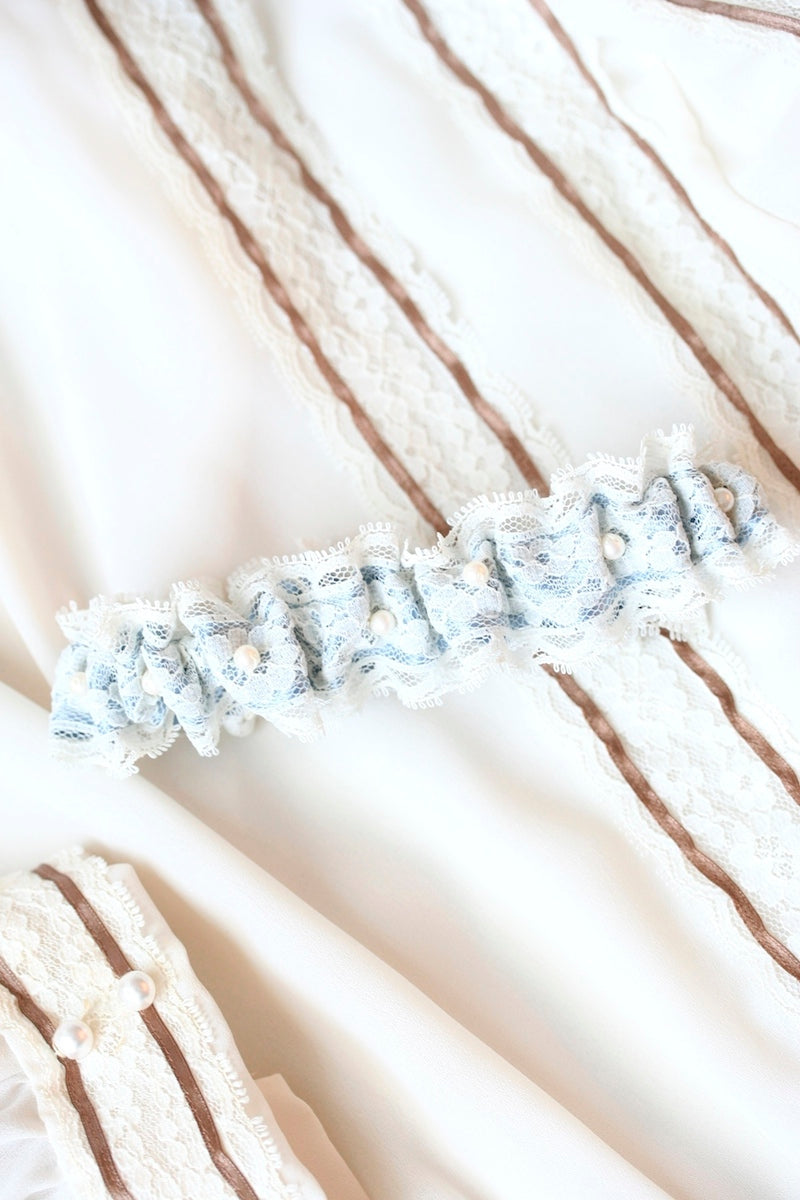 heirloom wedding garter