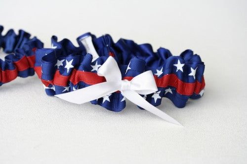 patriotic-wedding-garter-The-Garter-Girl