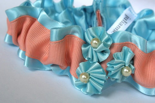 peach-wedding-garter-with-blue-The-Garter-Girl-by-Julianne-Smith
