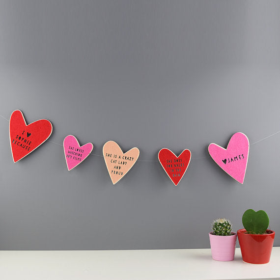 personalized-heart-bunting