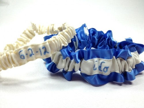personalized-wedding-garter-something-blue-The-Garter-Girl