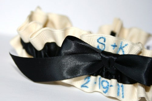 pesonalized-wedding-garter