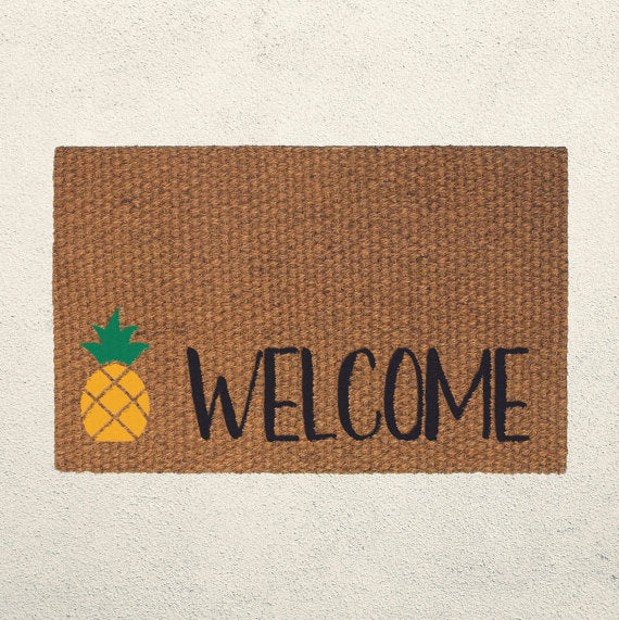 pineapple-doormat