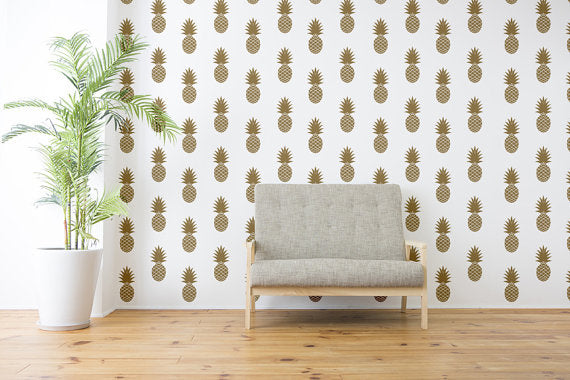 pineapple-wall-decal