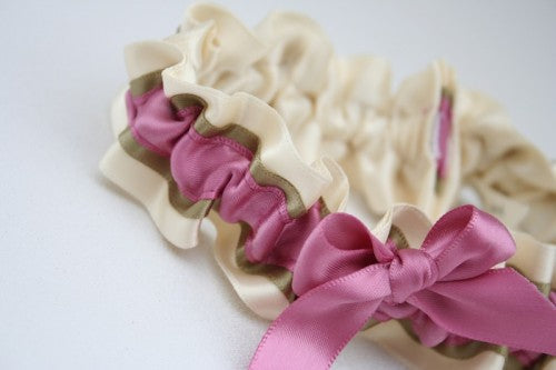 pink-metallic-wedding-garter-The-Garter-Girl