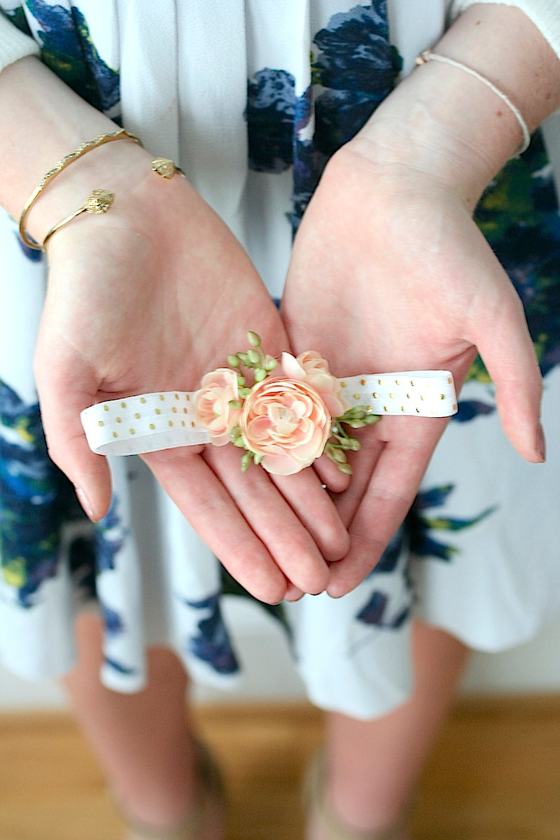 polka-dot-floral-wedding-garter-The-Garter-Girl
