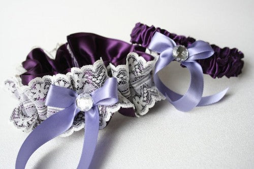 purple-wedding-garter-set-lace-The-Garter-Girl