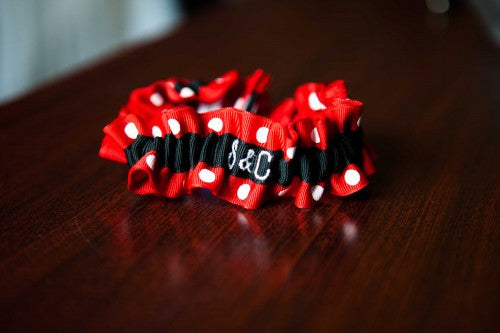 red-white-polka-dot-embroidered-garter-close-up