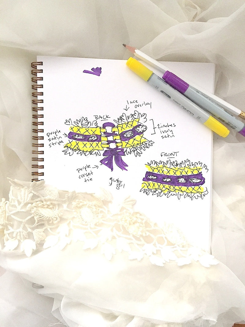 sketch-custom-wedding-garter-the-garter-girl