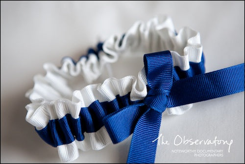 something-blue-and-white-environmentally-friendly-wedding-garter-The-Garter-Girl-by-Julianne-Smith-photo-by-The-Observatory